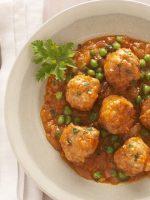 Receta de albóndigas en salsa de verduras