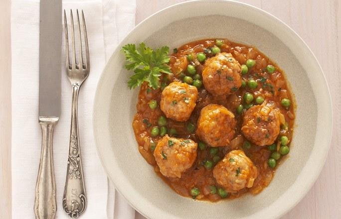 Receta de alb ndigas en salsa de verduras for Albondigas de verduras