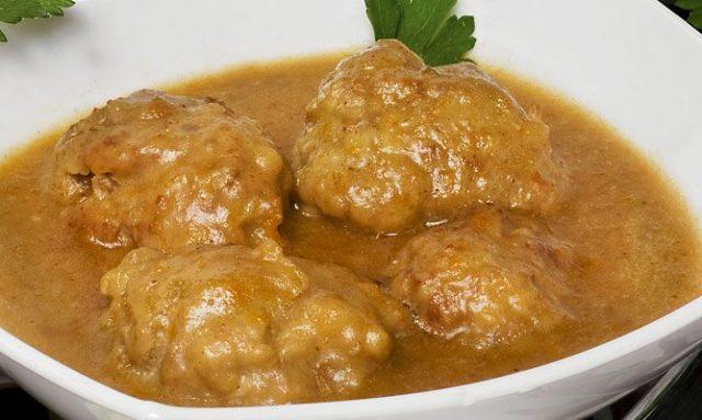 Receta de alb ndigas en salsa de vino blanco - Albondigas tradicionales ...
