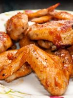Receta de alitas de pollo al horno