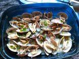 Receta de almejas a la marinera al microondas