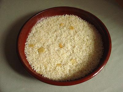 Receta de arroz blanco al horno