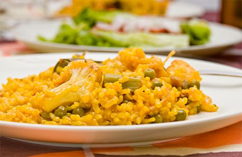 Receta de arroz con verduras thermomix