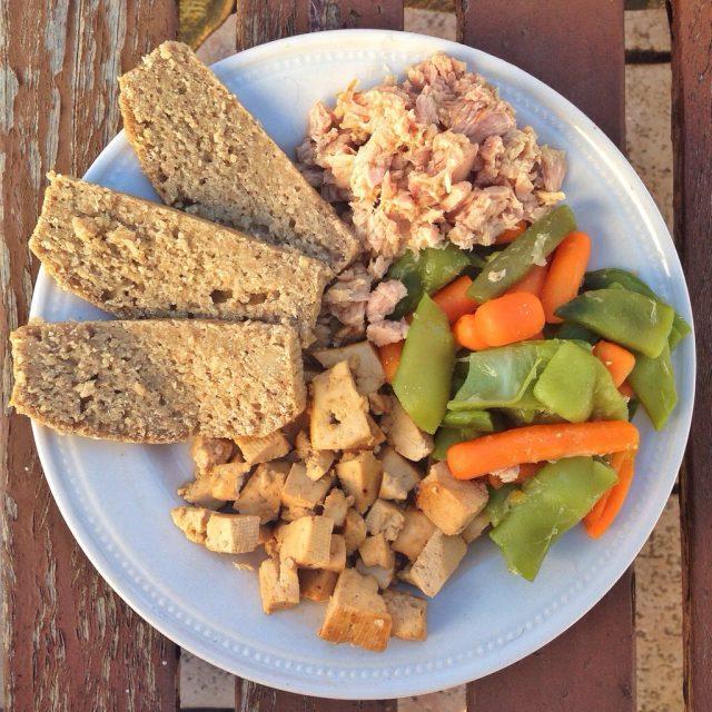 Receta de tofu con atún