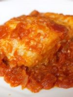 Receta de bacalao con tomate y cebolla