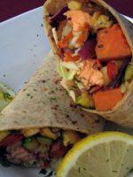 Receta de burrito de salmón