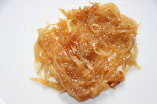 Receta de cebolla caramelizada light