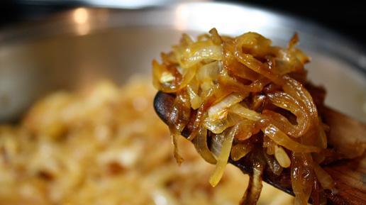 Receta de cebollas moradas caramelizadas con vinagre balsámico