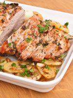 Receta de cerdo al horno con patatas