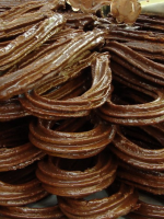 Receta de churros de chocolate