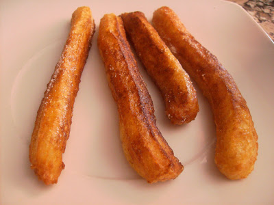 Receta de churros integrales
