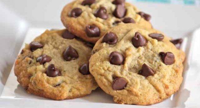 Receta de cookies americanas