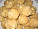 Receta de cookies de chocolate blanco