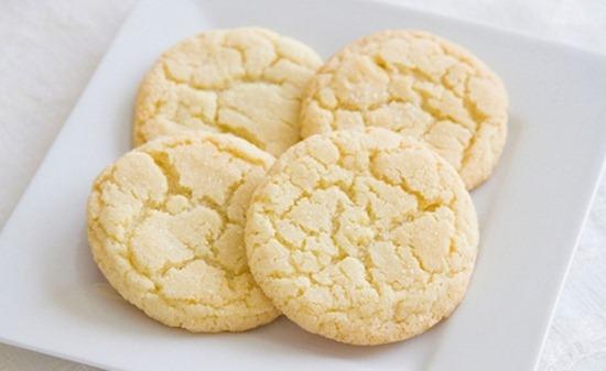 Receta de cookies de limón