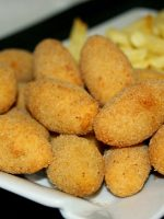 Receta de croquetas de pollo al microondas
