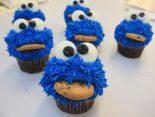 Receta de cupCakes del Monstruo de las galletas