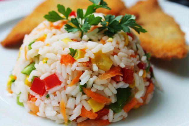 Receta de ensalada de arroz