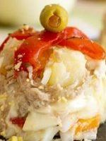 Receta de ensaladilla rusa con cebolla