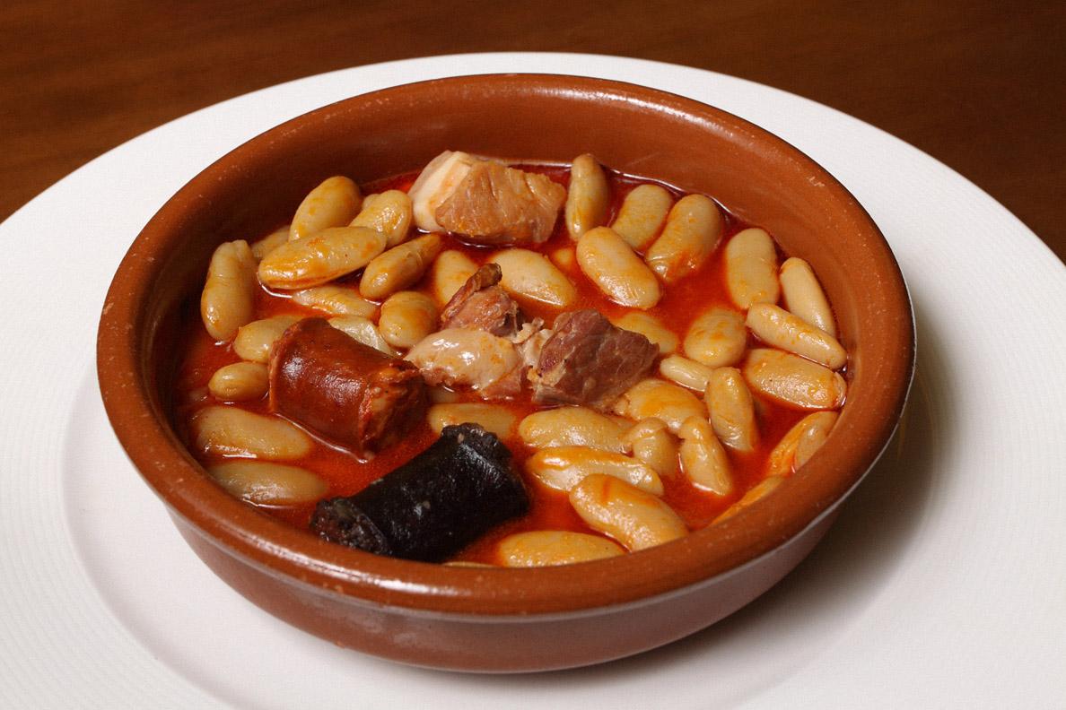 Receta de fabada asturiana con patatas for Cocina asturiana