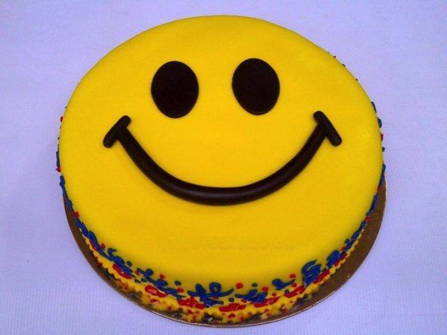 Receta de tarta fondant de la felicidad