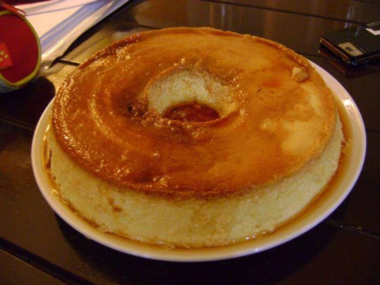 receta de flan de huevo al ba o maria
