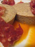 Receta de flan de queso roquefort