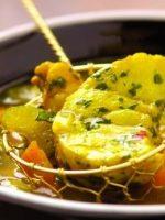 Receta de fondue de pescado