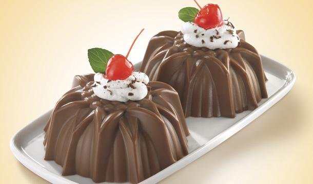 Receta de gelatina de chocolate
