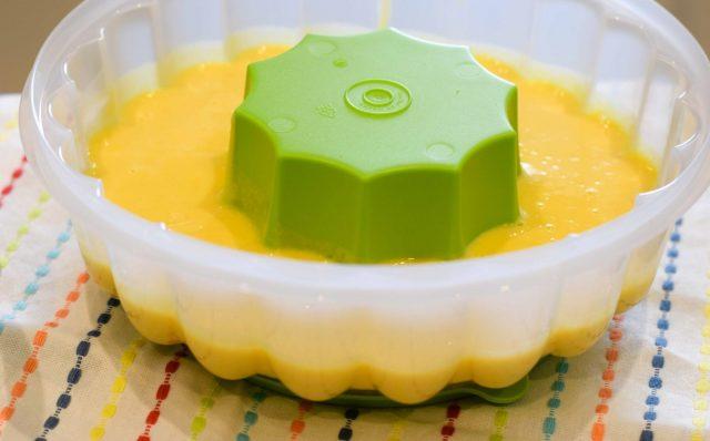 Receta de gelatina de mango y albahaca