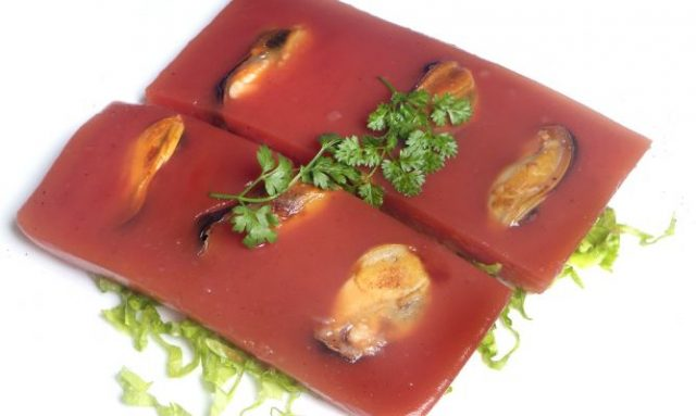 Receta de gelatina de tomate