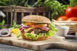 Receta de hamburguesa americana