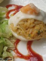 Receta de huevos rellenos con arroz