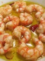 Ingredientes Gambas al ajillo