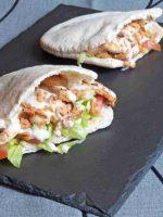 Receta de kebab de atún