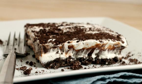 Receta de lasaña de chocolate