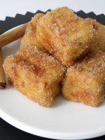 Receta de leche frita a la canela