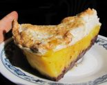 Receta de lemon pie con chocolate