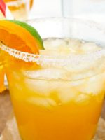 Receta de margarita de naranja