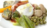 Receta de menestra de verduras con huevo