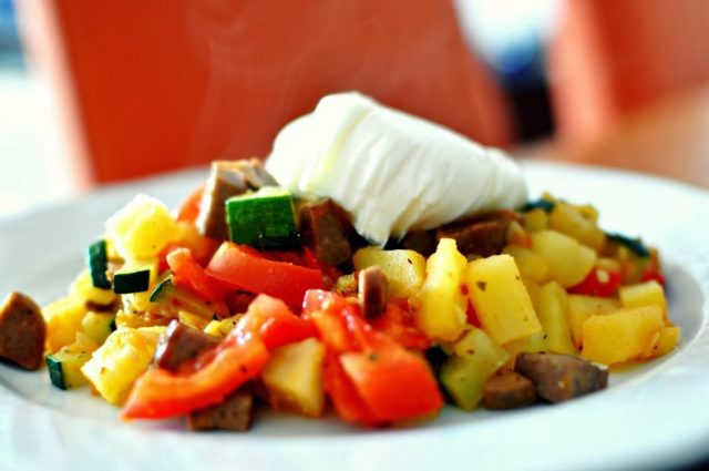 Receta de menestra de verduras con patatas