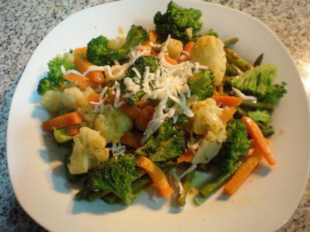 Receta de menestra de verduras con philadelphia
