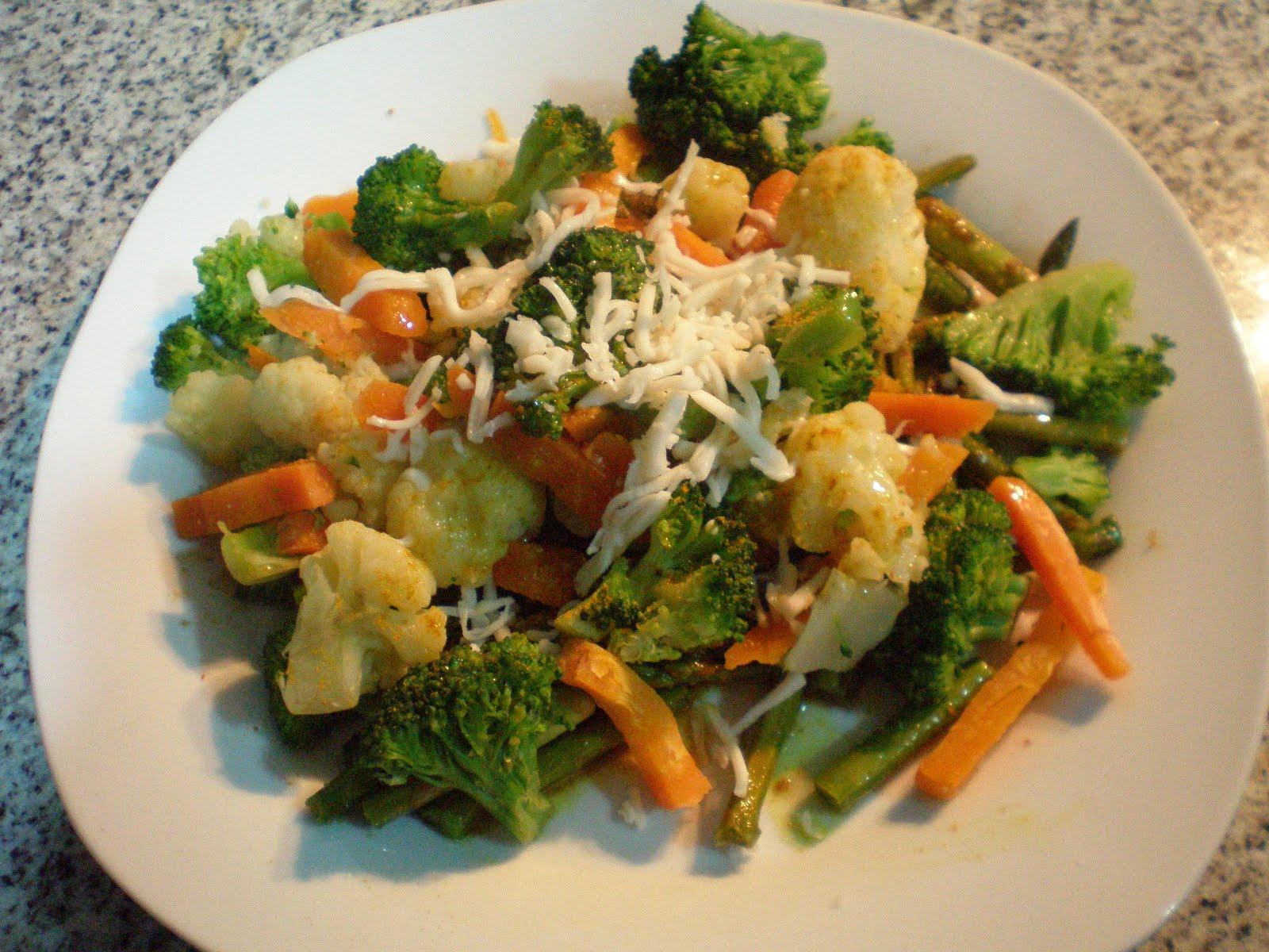Receta de menestra de verduras con philadelphia - Menestra de verduras en texturas ...