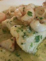 Receta de merluza en salsa verde con gambas