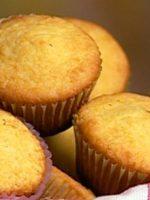 Receta de muffins de vainilla