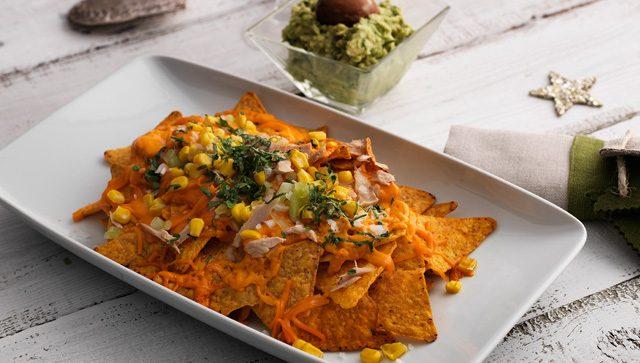 Receta de nachos con atún