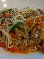 Receta de noodles con anacardos