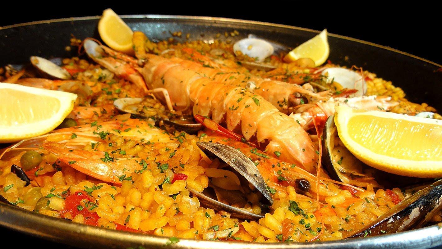 recetas de paella marinera