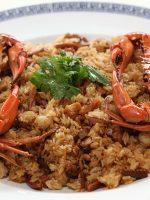 Receta de paella de marisco con cangrejo