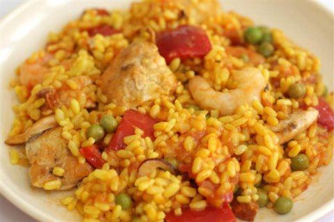 Receta de paella con pollo