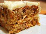 Receta de pastel de zanahoria microondas